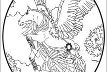 Bella Sara coloring book / Bella Sara coloring pages