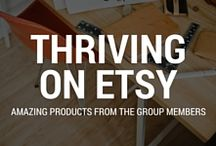 "THRIVING ON ETSY AND BEYOND / A group board of Etsy sellers from the Thriving on Etsy facebook group, where we help each other grow and share our amazing creations :) To join, please comment ""ADD ME"" and mention @annagrunduls"