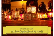 To The Market!!!~* / Outdoor markets/shopping all over the world. / by Barb Markee Boettcher