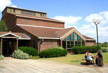 Northbrook Theatre / Interior and exterior pictures of Northbrook Theatre at Northbrook College, Sussex