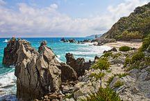 Tropea Calabria / luonnonrikas paikka Etelä-Italiassa