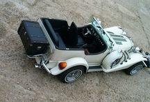 Wedding vintage cars
