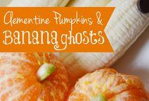 Halloween ideas.....Oooo scary!