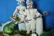 Tavasz / Tavaszi dekorációk ünnepekhez kapcsolódóan és más...