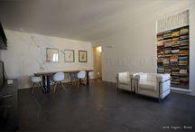 Casa Privata Roma / pavimenti e rivestimenti continui in Microcemento e Ecomateria