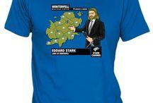 Camisetas Juego De Tronos / Game Of Thrones Tees / Diseños de camisetas de Juego De Tronos. Tees inspired on Game Of Thrones / by Fanisetas.Com
