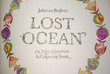My Lost Ocean Colouring Book / This is a board showing my colouring so far from Lost Ocean by Johanna Basford