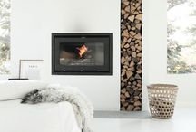 Minimal fireplaces