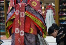 Kimono and japanese Clothes