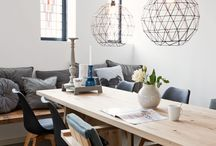 Dinner table, lighting