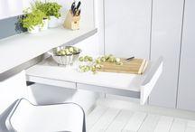 Projekt kuchnia + salon