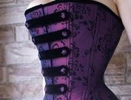 Fashion: Corsets / Corsets, bras, and undies. / by Jessica Coburn