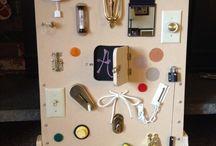 Peach lock board