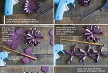Ruby Dahlia Delight / Tutorial for this elegant, deep ruby Dahlia creation by LIA! / by Paper-Papers