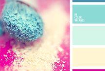 Colour palette / kombinace barev