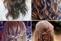 Wedding hair for Nat