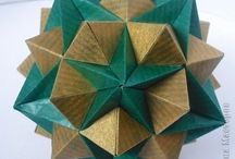Оригами. Кусудамы