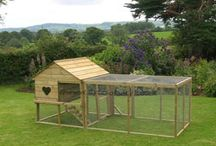 Cottage Hen House / The space-saving cottage offers the complete solution for anyone wishing to keep a few hens