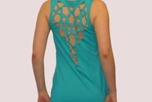 Vestidos / Made and designed by Mostaza Laser Wear. San Pere de Ribes , Barcelona , Spain.