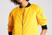 Żółte stylizacje - Yellow outfits ideas