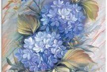 flores oleo