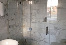 Covent Garden Apartment Block / http://idealglassandglazing.co.uk/index.html  We were invited to supply and install bespoke shower screens and mirrors to every apartment within the luxury apartment block in London's famous Covent Garden. / by Ideal Glass and Glazing