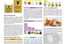 Baobab Benefits and recipes