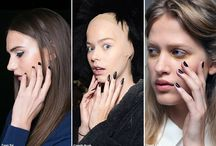Nail Trends SS 2016 / Hottest Nail trends right from the runways.