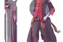 ropa diseño anime boy