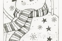snowman / by Misty Grant
