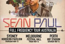 Sean Paul and Mya Australian Tour 2014 / Sean Paul and Mya official Australian Tour 2014.    For more exclusive details, see www.sifatouring.com.au