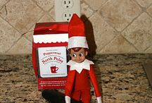 Elf on the shelf ideas / Christmas