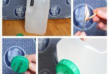 műanyagflakonok