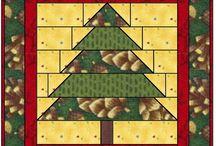 kerst quilten