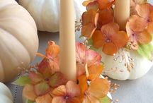 Thanksgiving {Decor/Crafts} / Ideas for making your home Thanksgiving-y.