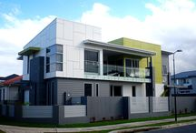 Mixed Facades / A collection of stunning examples of using mixed materials.