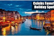 Celebrities Holidaying and Famous Destination Spots / PICTURES of Celebrity holiday, honeymoon, travel and destination pics