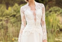 lace white bride