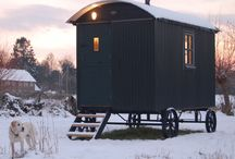 Shepherds Huts and garden houses