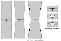 Tabard-szabásminta