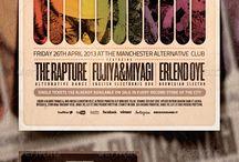 Poster design, flyer