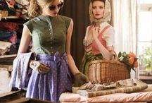 Vintage-Dirndl / Vintage-Dirndl & Vintage Style  Mehr in unserem Blog: www.onlinetrachten.de/stichwort/vintage/