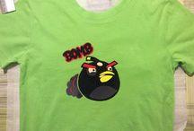 Angry birds hotfix / Vaatteiden tuunaus