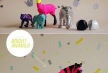 Bunte Tierwelt / DIY