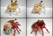 Beaded crabs