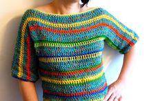 crochet / clothes / by Iulia LaMatassinarossa