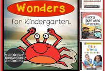 Wonders Reading Kindergarten / Products to enhance the Kindergarten Wonders Reading Series