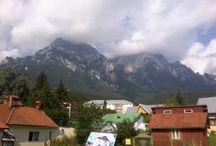 Carpathian Mountains / Carpathian Mountains, Busteni, Valea Cerbului. The Most Beautiful Place in The Carpathian Mountains