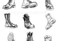 shoes draw