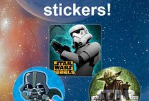 Science Fiction and Fantasy! / SmileMakers has the newest sci-fi and fantasy stickers and tattoos that will thrill your patients to the stars and beyond! / by SmileMakers